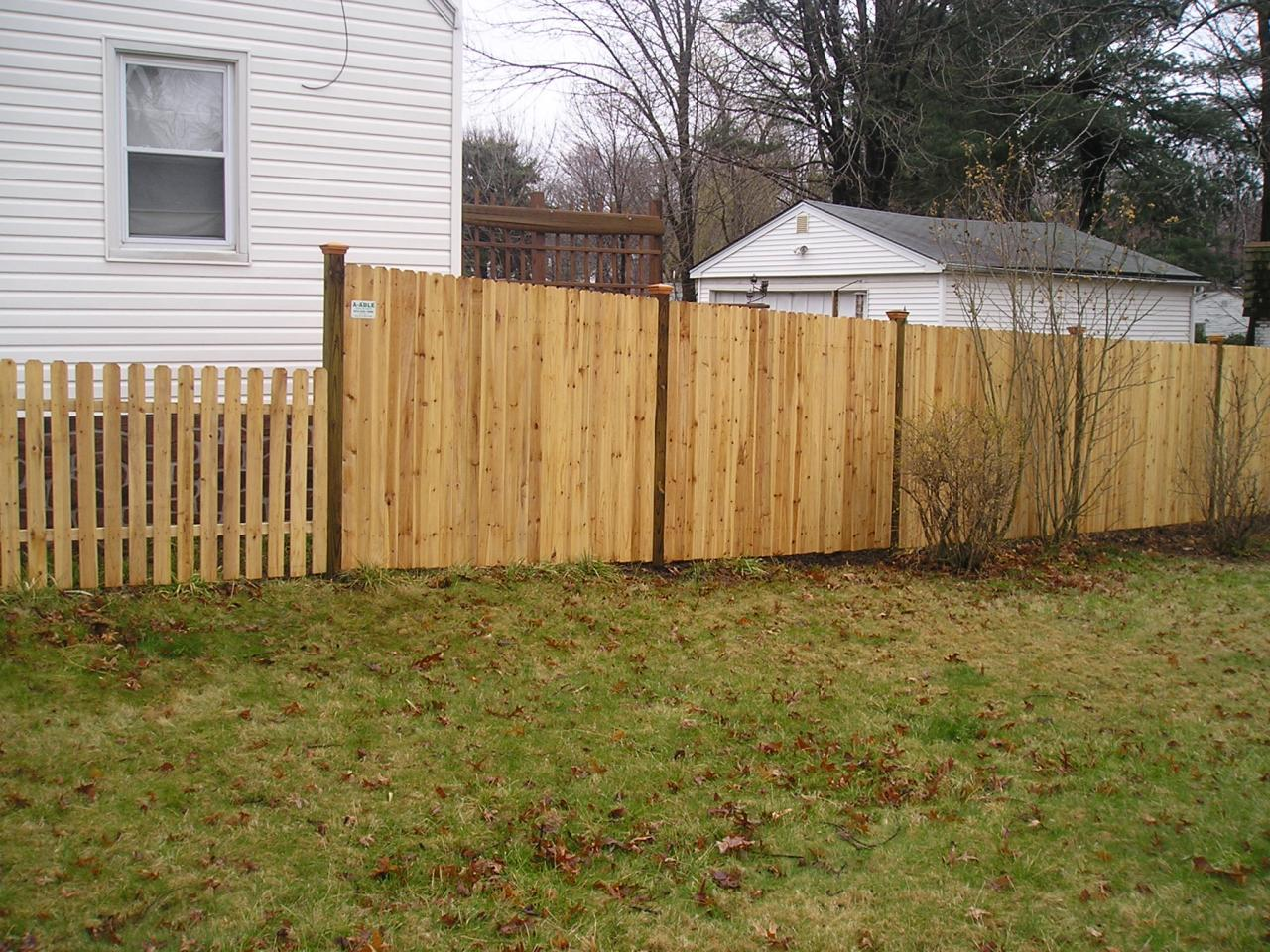 Aaa Fence Distributors Wood Styles Custom Wood Styles